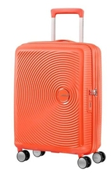 Walizka american tourister soundbox 67 cm powiększana - orange