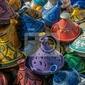 Fototapeta tajines na rynku, maroko