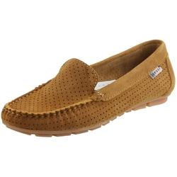 Camelowe mokasyny damskie nessi 17145 buty