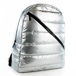 Plecak damski kendall+kylie connie backpack - srebrny