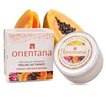 Orientana naturalny kremowy peeling papaja i zeń-szeń indyjski 50g