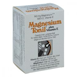 Magnesium tonil plus wit. e kapsułki