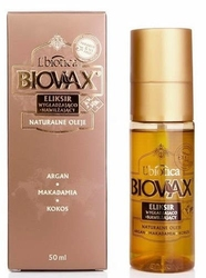 Biovax eliksir do włosów argan, makadamia, kokos 50ml