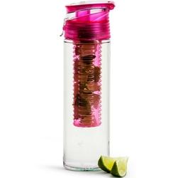 Bidon z pojemnikiem na owoce fresh sagaform różowy sf-5017751