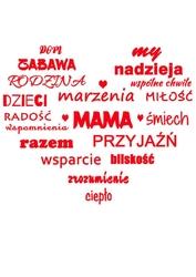 Mama  - plakat wymiar do wyboru: 70x100 cm