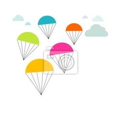 Naklejka paracaidas