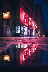 Neon - plakat premium