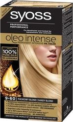 Syoss oleo, farba do włosów, 9-60 piaskowy blond