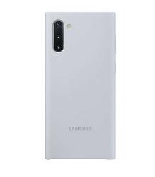 Samsung Etui Silicone Cover Note 10 srebrny