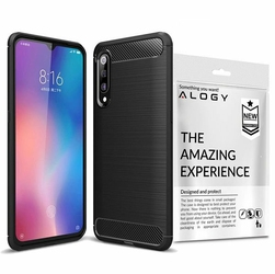Etui Alogy Rugged Armor Case do Xiaomi Mi 9 czarne