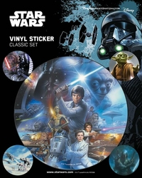 Star Wars Classic - naklejka filmowa