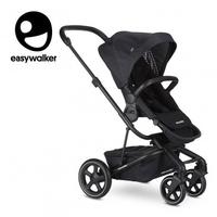 Easywalker harvey² premium wózek głęboko-spacerowy onyx black zawiera stelaż, siedzisko z budką, pałąk, folię przeciwdesz. i