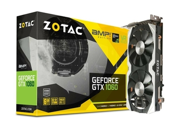 ZOTAC Karta graficzna Geforce GTX 1060 AMP 6GB GDDR5 192BIT 3DPHDMIDVI