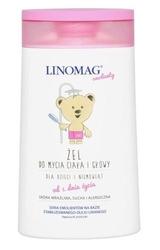 Linomag żel do mycia ciała i głowy dla dzieci i niemowląt 200ml