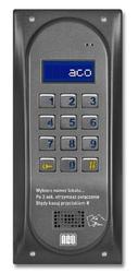Aco cdnp6acc st centrala domofonowa grzałka lcd. rfid master - szybka dostawa lub możliwość odbioru w 39 miastach