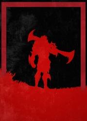 League of legends - draven - plakat wymiar do wyboru: 50x70 cm
