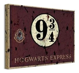 Harry potter hogwarts express 9 34 - obraz na płótnie