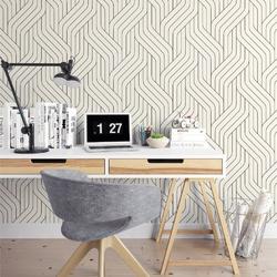 Tapeta na ścianę - artful waves , rodzaj - próbka tapety 50x50cm
