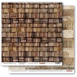 Papier 30x30cm WORDS LIVE FOREVER - 7th Street Lib - 02