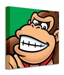 Super Mario Donkey Kong - Obraz na płótnie