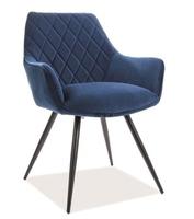 Pikowane krzesło do jadalni linea velvet
