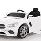 Mercedes sl400 biały samochód na akumulator + pilot