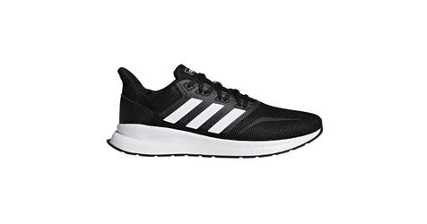 Buty adidas runflacon f36199 core black 43 13 czarny