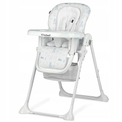 Kidwell ami białe krzesełko dla dziecka + puzzle