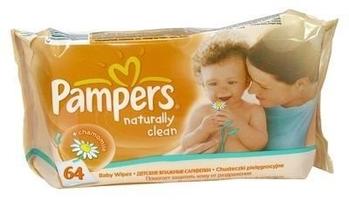 Chusteczki pampers baby naturally clean x 64 sztuki