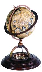 Authentic models globus terrestrial z kompasem gl019