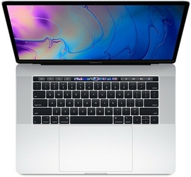 Apple MacBook Pro 15 Touch Bar, 2.3GHz 8-core 9th i916GB512GB SSDRP560X - Silver