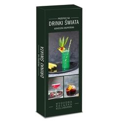 pakiet 3 książek drinki świata + proste drinki + proste shoty