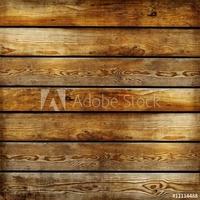 Tapeta ścienna delikatna faktura drewnianych desek