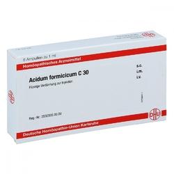 Acidum formicicum c 30 ampullen