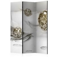 Parawan 3-częściowy - abstrakcyjne diamenty parawan