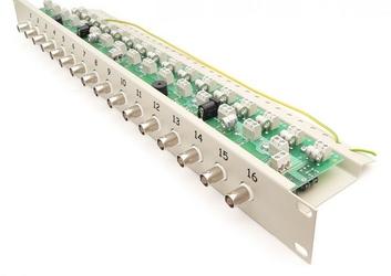 Separator galwaniczny z zabezpieczeniem i transformatorami wideo oraz dystrybucją zasilania ewimar lst-16r-fps - szybka dostawa lub możliwość odbioru w 39 miastach