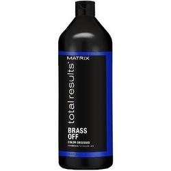 Matrix brass off odżywka pielęgnująca i neutralizująca niechciane refleksy 1000ml