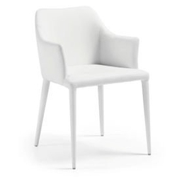 Outlet - krzesło z eko-skóry dante czarne