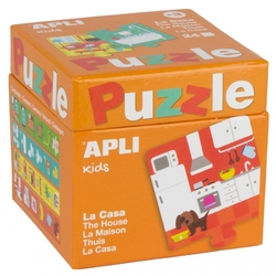 Puzzle apli kids - w domu