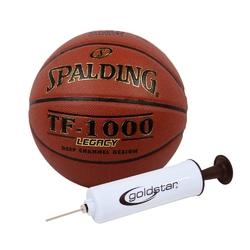 Piłka do koszykówki spalding tf-1000 legacy + pompka