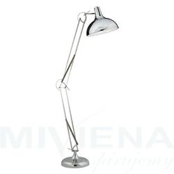 Goliath lampa podłogowa 1 chrom