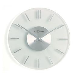 Zegar ścienny stripe - przeźroczysty - różne rozmiary - 26 cm