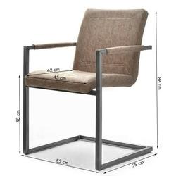 Krzesło tapicerowane korto vintage