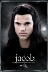Twilight jacob - plakat