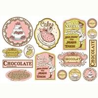 Papier soft do decoupage 48x33 cm słodkości tort - 014