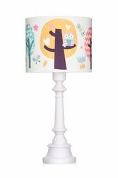 Lampa stojąca - sowie opowieści