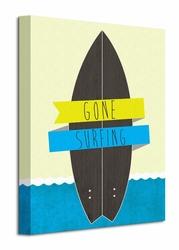 Gone Surfing - Obraz na płótnie