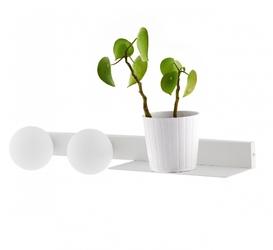 Kaspa :: lampa ścienna  kinkiet botanica deco biały