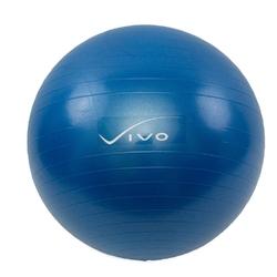 Piłka gimnastyczna vivo 65cm dark blue fa00