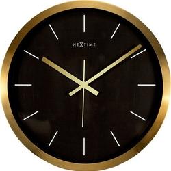 Zegar ścienny stripe czarny
